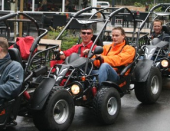 2x 2 persoons buggy rit